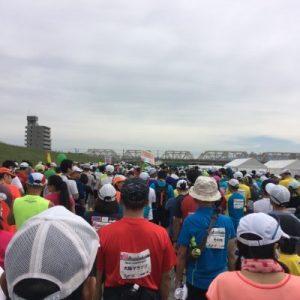 マラソンスタート