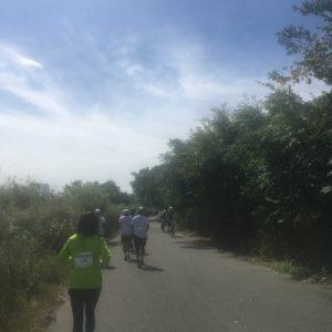 マラソン途中