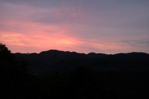 夜明けの風景