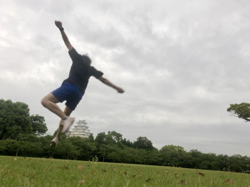 斜めジャンプ