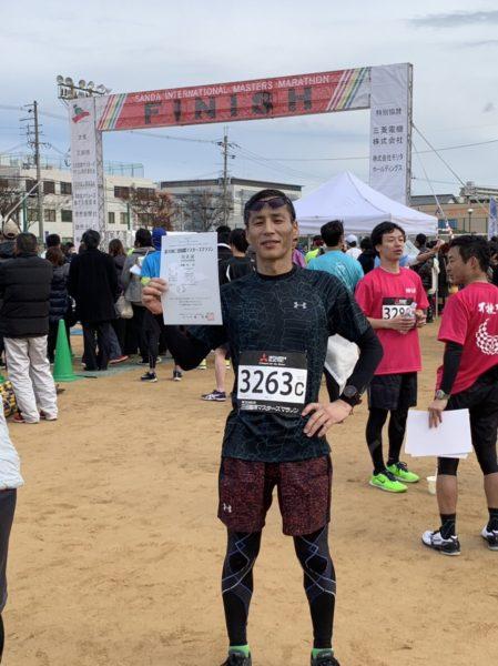第30回三田国際マスターズマラソン kiyさん1