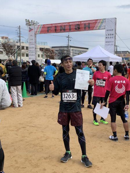 第30回三田国際マスターズマラソン kiyさん2