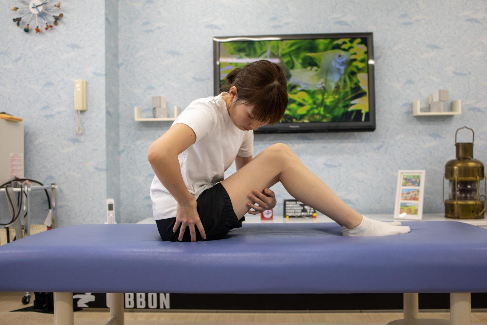 変形性股関節症のストレッチ
