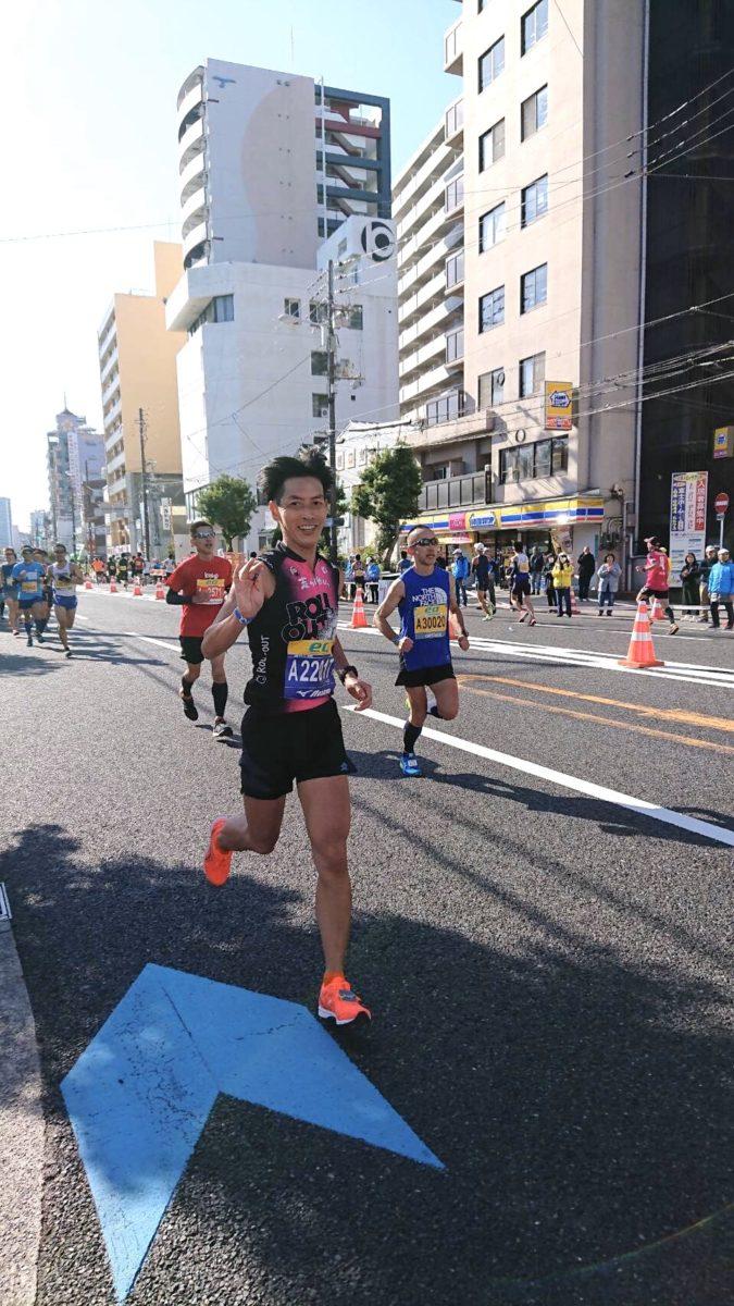 第9回大阪マラソン tanさん2