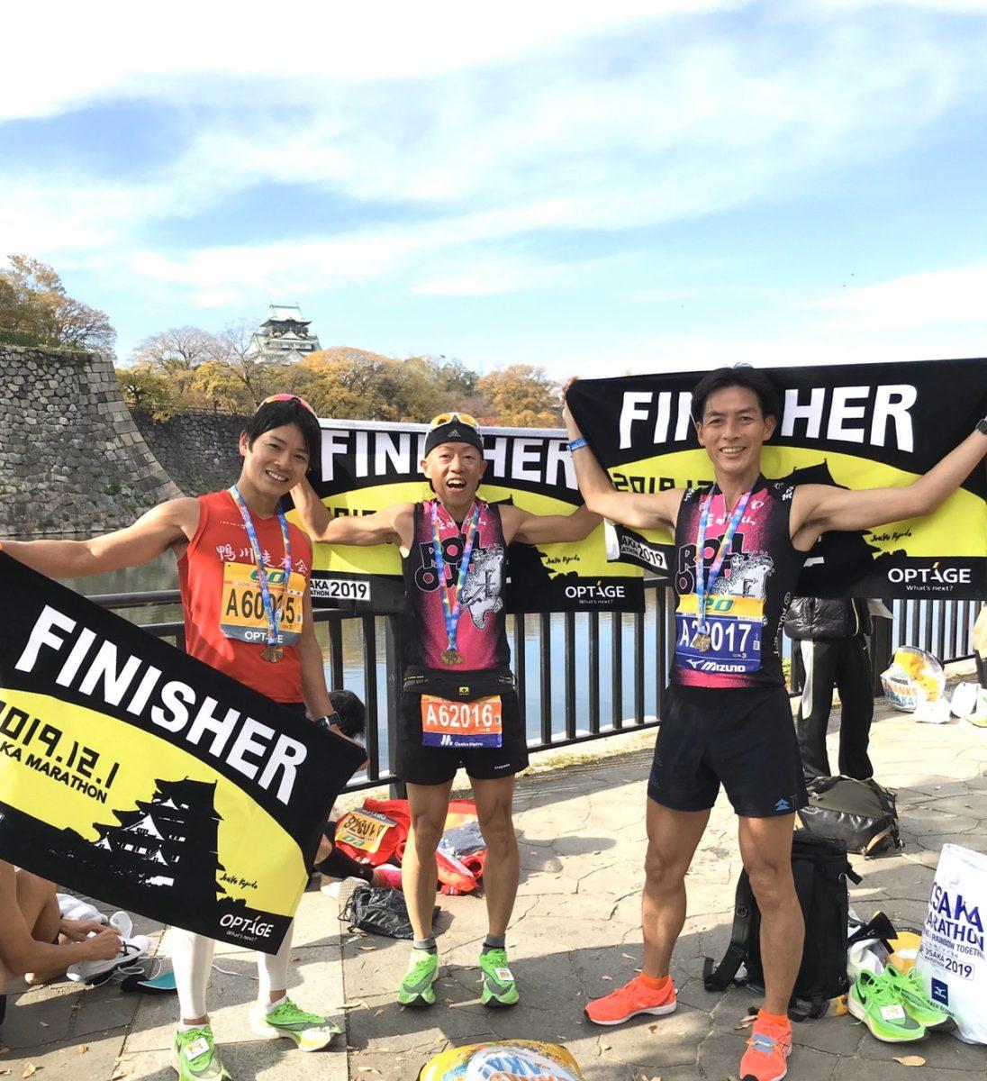 第9回大阪マラソン tanさん3