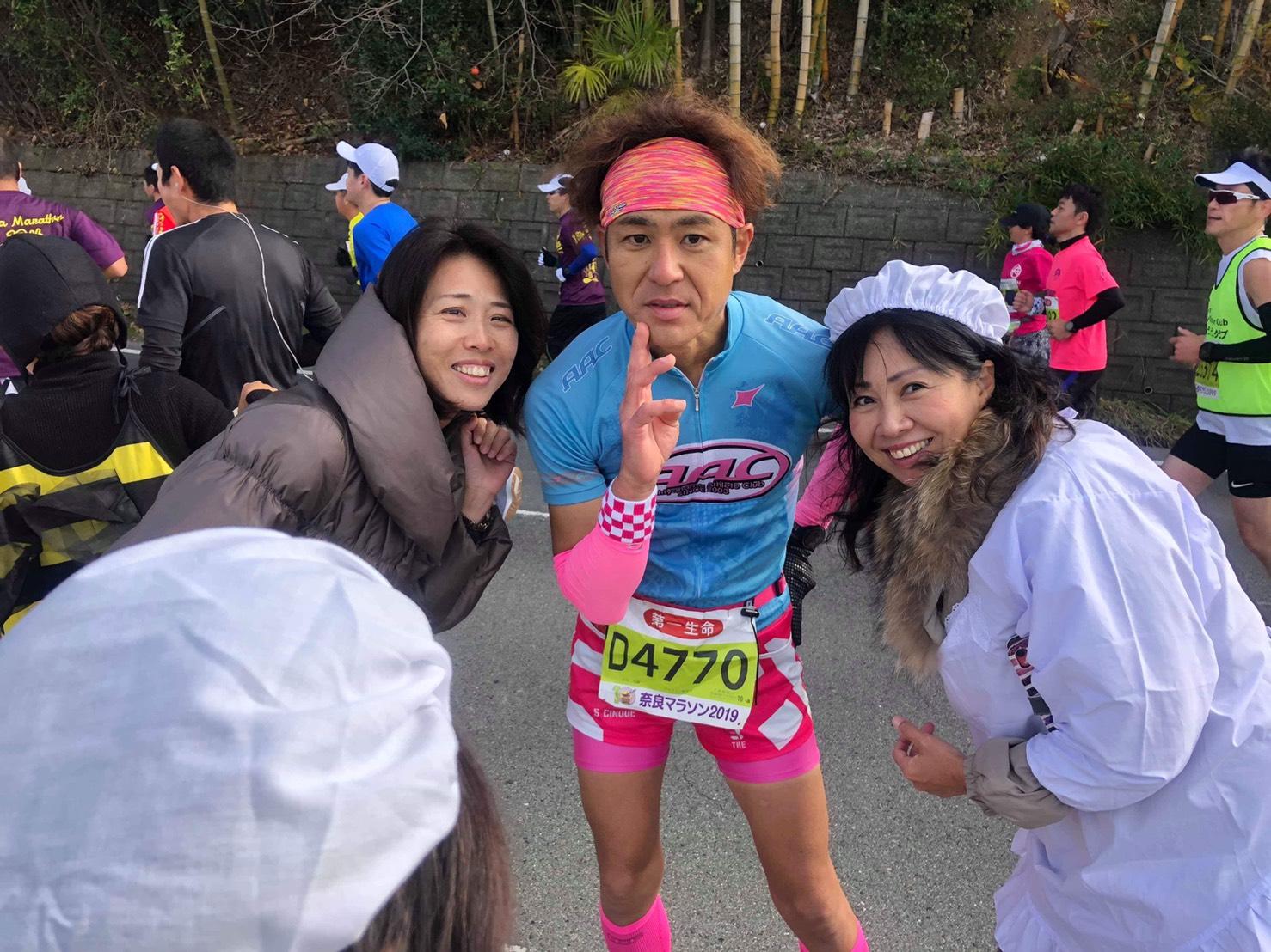 奈良マラソン2019 igaさん3