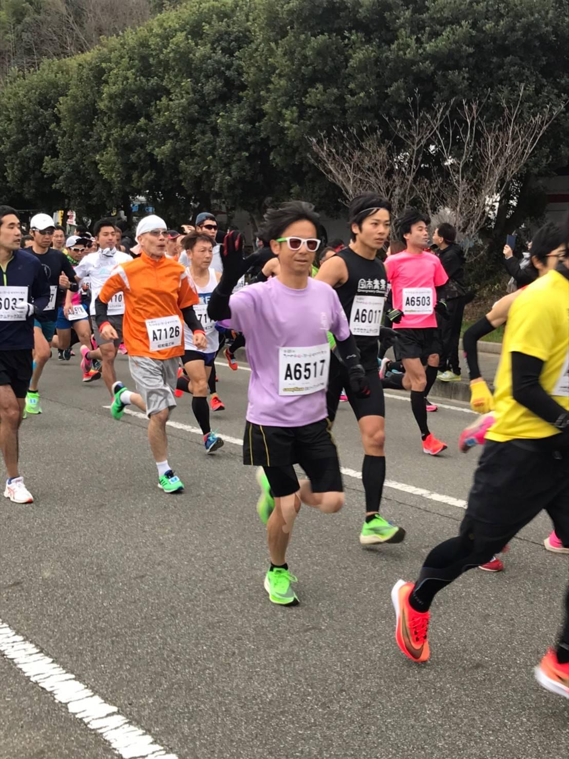 第48回たつの市梅と潮の香マラソン大会 kurさん tak-sさん oguさん2