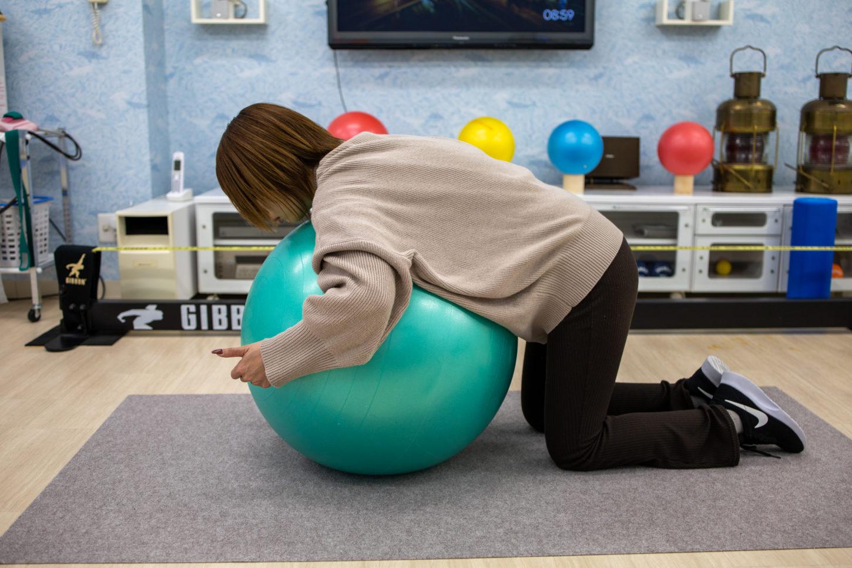 肩のバックエクステンション