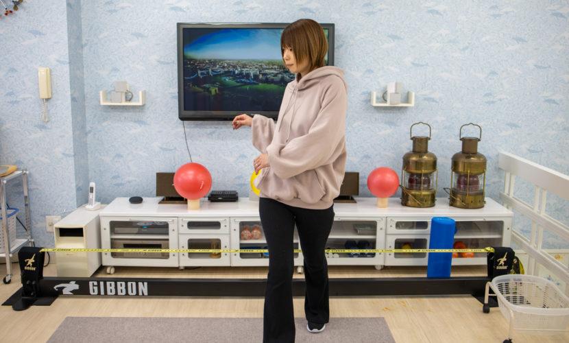 体幹の動的ストレッチ