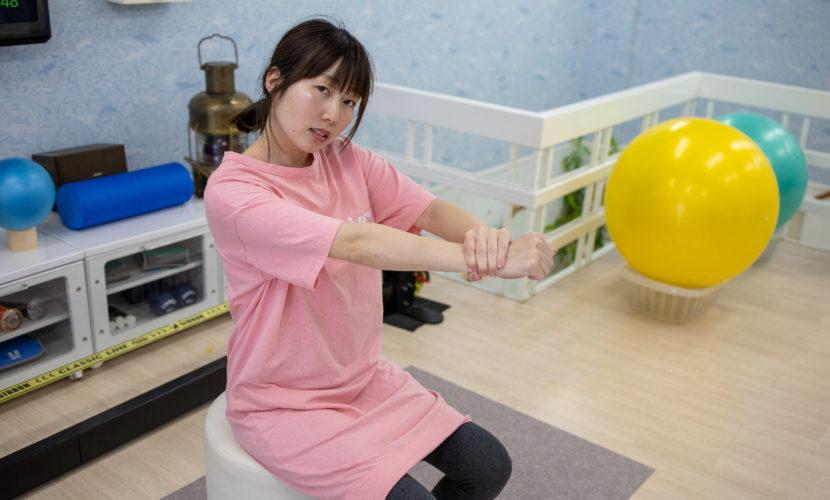 腱鞘炎のストレッチ