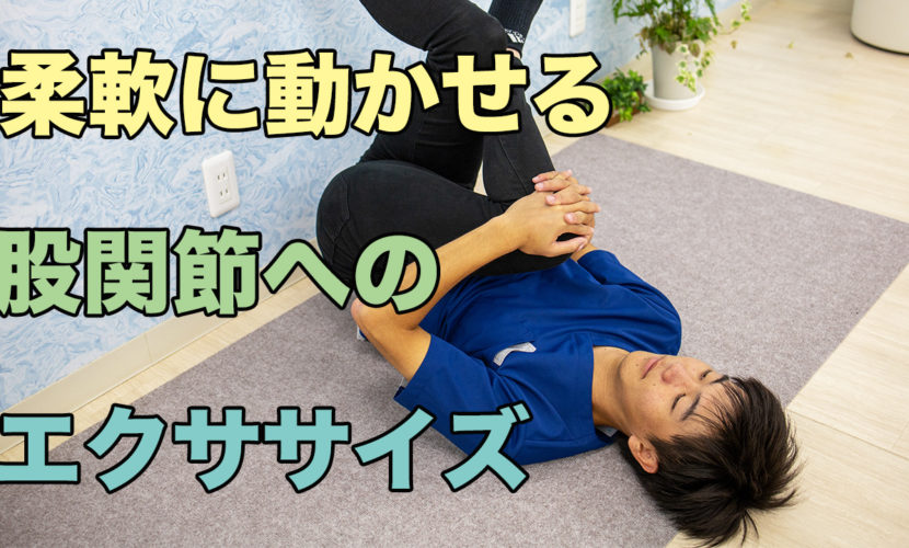 柔軟な股関節