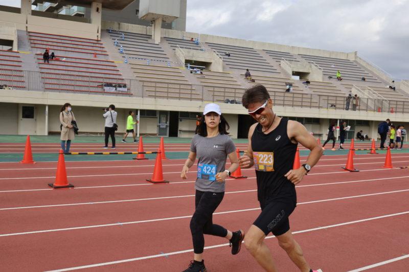 明石城公園マラソン10