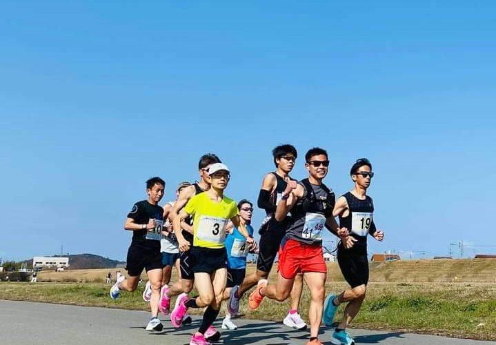 2021.3.14 加古川河川敷でマラソン2