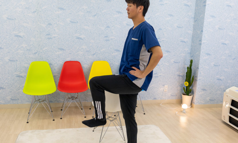足のトレーニング
